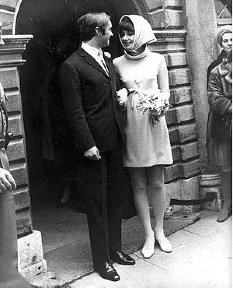 1950s Vintage Wedding Inspiration Audrey Hepburn Wedding Rose