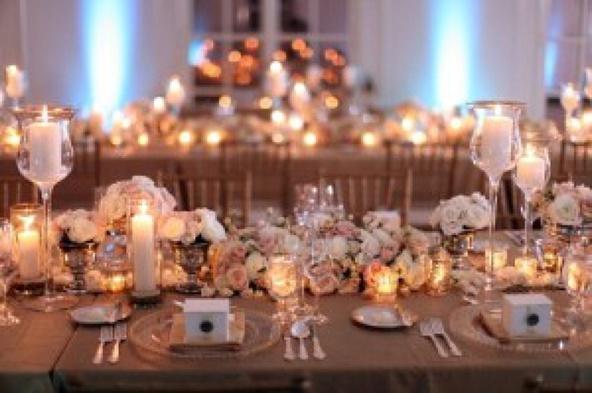 Rock A Rose Gold Wedding Theme Wedding Rose