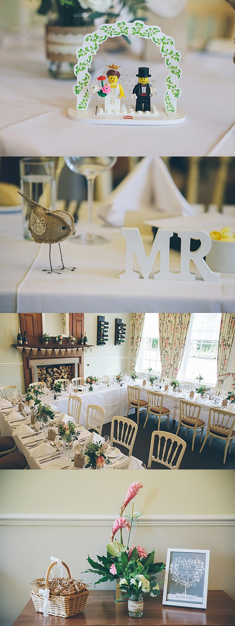 Delightful English Country Garden Wedding in Nottinghamshire ...
